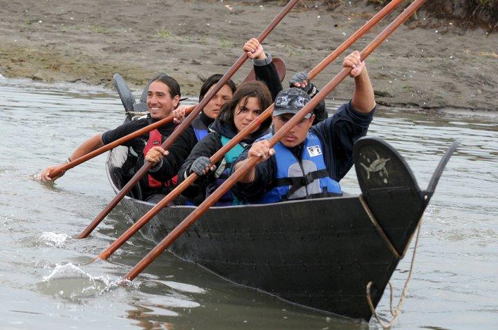 chumash canoe