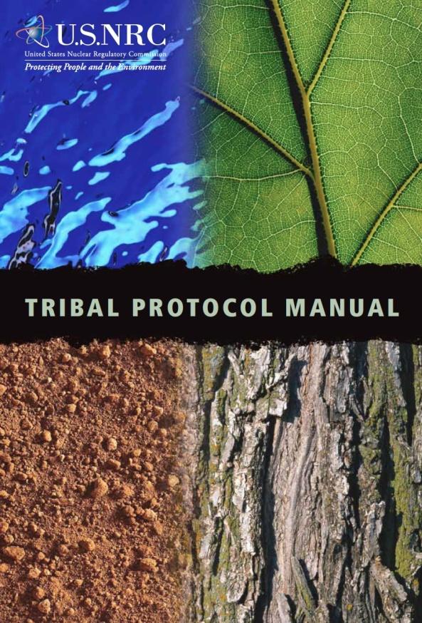 nrc tribal protocol